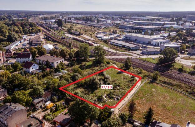 Nieruchomość gruntowa niezabudowana położona przy ulicy Wiosennej – działka nr 37/10, obr. 4038