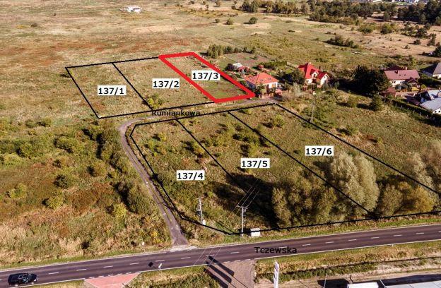 Nieruchomość gruntowa niezabudowana położona przy ul. Rumiankowej – działka nr 137/3, obr. 4209