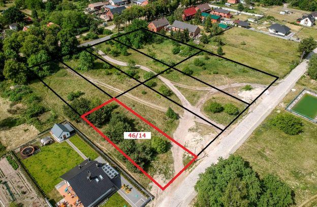Nieruchomość gruntowa niezabudowana położona przy ulicy Drewnianej – działka nr 46/14, obr. 4087