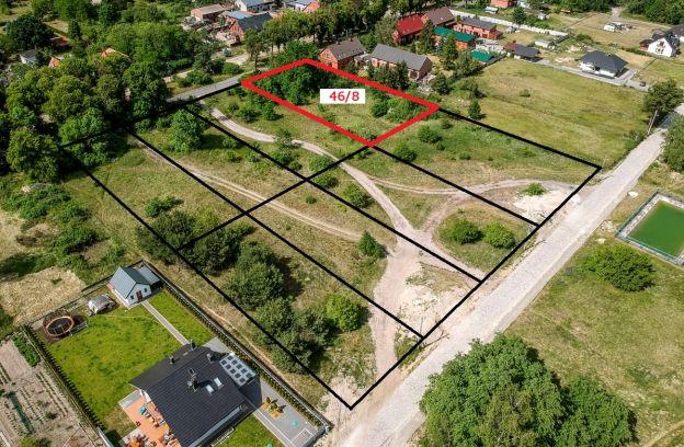 Nieruchomość gruntowa niezabudowana położona przy ulicy Bryczkowskiego  – działka nr 46/8, obr. 4087