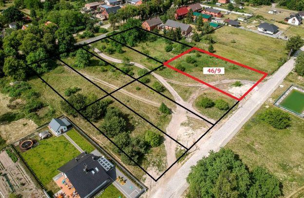 Nieruchomość gruntowa niezabudowana położona przy ul. Drewnianej – działka nr 46/9, obr. 4087