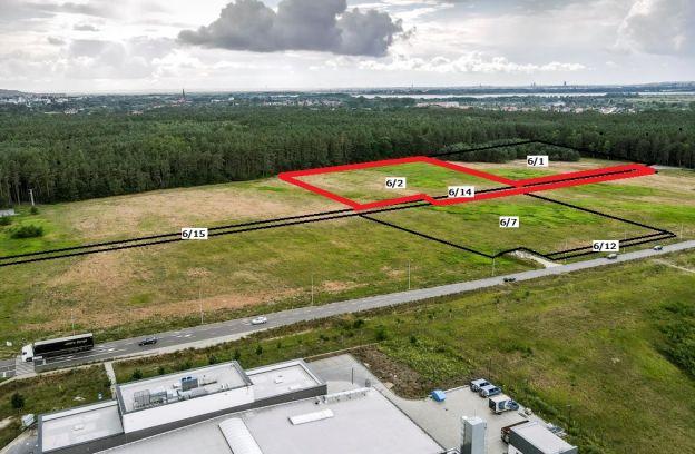 Nieruchomość gruntowa niezabudowana położona w Szczecinie przy ulicy Tytanowej – działki nr 6/2 i 6/14, obr. 4018