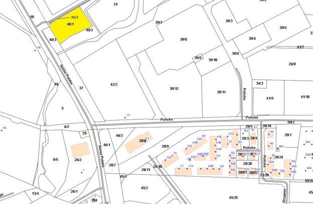 Nieruchomość gruntowa niezabudowana położona przy ulicy Szosa Polska – działki nr 36/1 i 40/1, obr. 3203