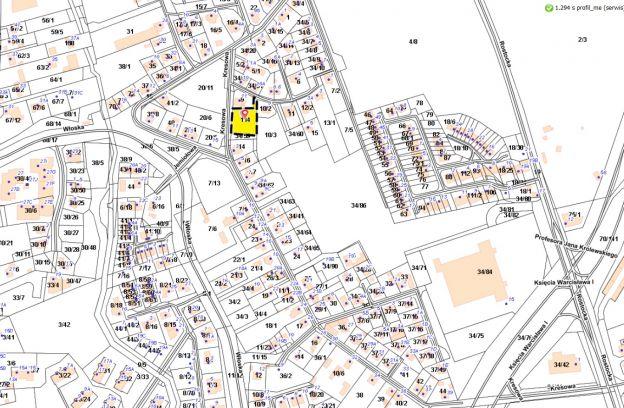 Nieruchomość gruntowa niezabudowana położona przy ulicy Cieszyńskiej – Kresowej – działka nr 114, obr. 3083