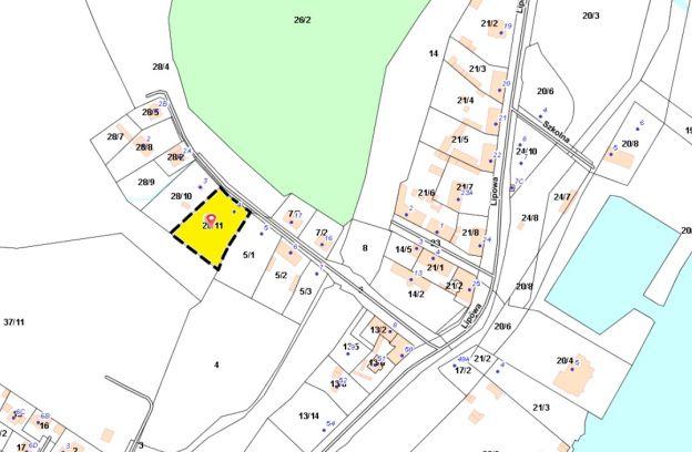 Nieruchomość gruntowa niezabudowana położona przy ul. Koszalińskiej 4 – działka nr 28/11, obr. 3089