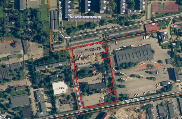 Nieruchomość gruntowa zabudowana położona przy ul. Klonowica – dz. nr 1/23 z obrębu 2058