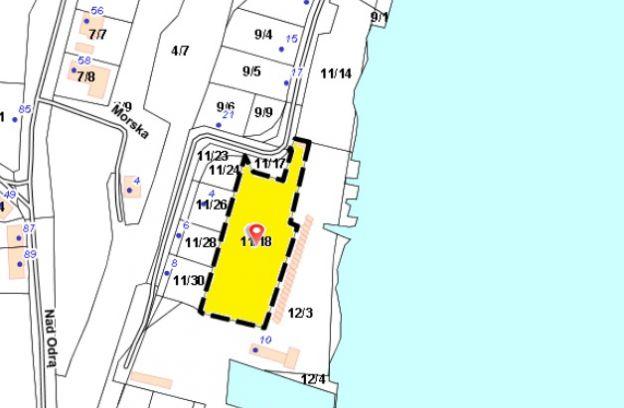 Nieruchomość gruntowa zabudowana położona przy ulicy Łowieckiej – działka nr 11/18, obr. 3063