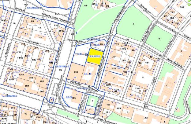 Nieruchomość gruntowa zabudowana położona przy ulicy Starzyńskiego – cz. działki nr 3/13, obr. 1030