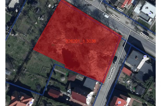 Nieruchomość gruntowa niezabudowana przy ul. Kruczej, dz. 142 obręb 3036