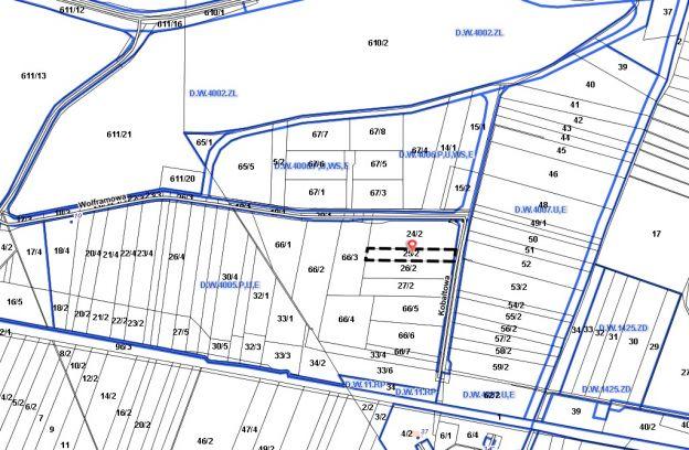 Nieruchomość położona przy ul. Kobaltowej – działka nr ewid. 25/2 z obr. 4014