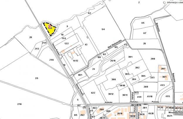 Nieruchomość gruntowa niezabudowana położona przy ulicy Szosa Polska – działka nr ewid. 16/6 z obr. 3203