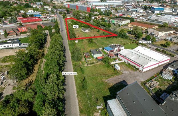 Nieruchomość gruntowa zabudowana położona przy ulicy Gryfińskiej – działka nr 49 z obr. 4048
