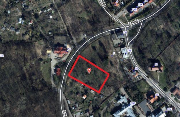 Nieruchomość gruntowa położona w Szczecinie przy ulicy Pokoju – działka nr 2/24 z obr. 3091