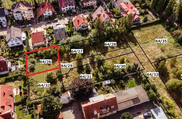 Nieruchomość gruntowa położona przy ulicy Starego Wiarusa – działka nr 64/26 z obr. 2057