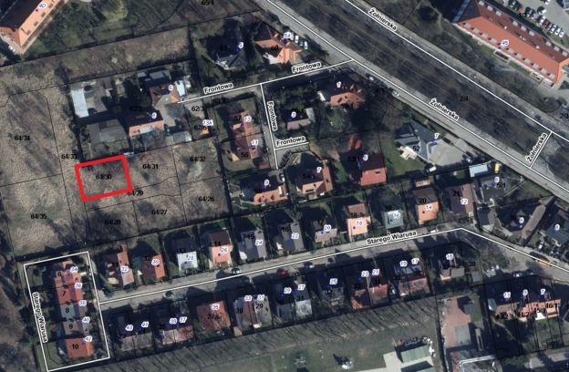 Nieruchomość gruntowa położona przy ulicy Starego Wiarusa – działka nr 64/30 z obr. 2057