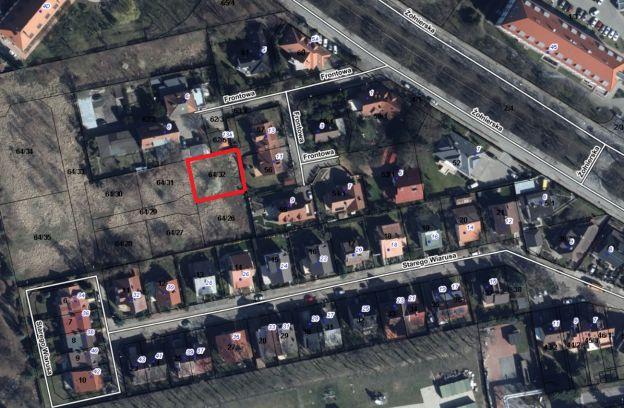 Nieruchomość gruntowa położona przy ulicy Starego Wiarusa – działka nr 64/32 z obr. 2057