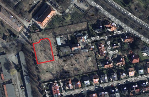 Nieruchomość gruntowa położona przy ulicy Starego Wiarusa – działka nr 64/34 z obr. 2057