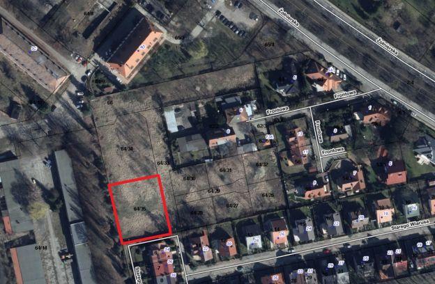 Nieruchomość gruntowa położona przy ulicy Starego Wiarusa – działka nr 64/35 z obr. 2057