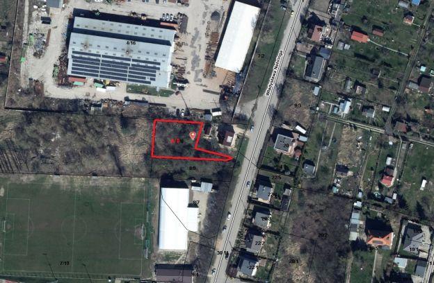 Nieruchomość gruntowa położona w Szczecinie przy ul. Nehringa – działka nr ewid. 8/8 z obr. 3054