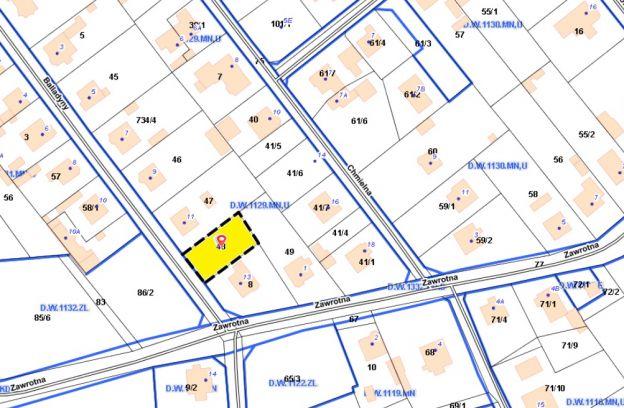 Nieruchomość gruntowa położona w Szczecinie przy ulicy Balladyny – dz. nr ewid. 48 z obr. 4094