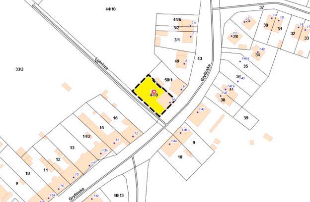Nieruchomość gruntowa zabudowana położona w Szczecinie przy ul. Gryfińskiej 10 – dz. 44/8 z obr. 4036
