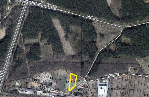 Nieruchomość gruntowa położona w Szczecinie przy ulicy Wolframowej – dz. nr ewid. 10/8 z obr. 4214
