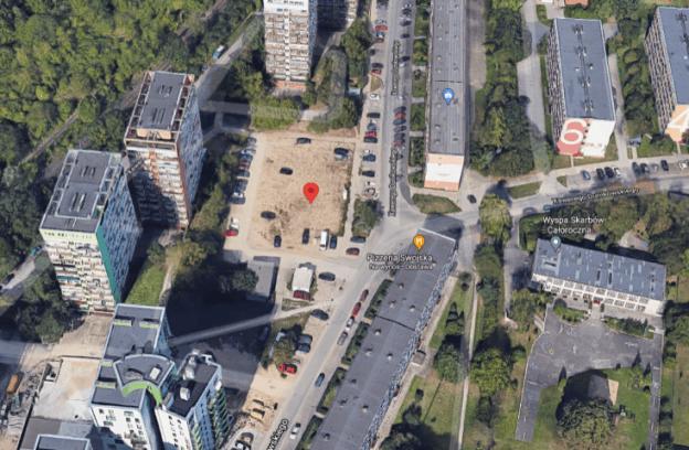 Nieruchomość gruntowa niezabudowana z przeznaczeniem na tymczasowy parking dla samochodów osobowych